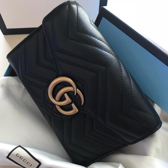 33ccb3a01 Gucci Bags | 100 Authentic Gg Marmont Matelass Mini Bag | Poshmark
